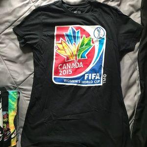 Women's Canadian soccer 2015 Fifa adidas shirt